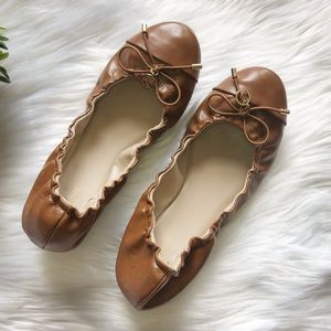 Juicy Couture brown ballet flats